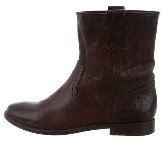 Frye Round-Toe Ankle Boots