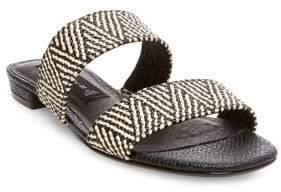 Steve Madden Steven by Friendsy Woven Slide Sandals