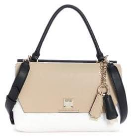 GUESS Lenia Colourblock Top Handle Bag