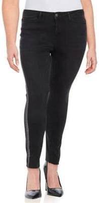 Junarose Plus Whiskered Jeans