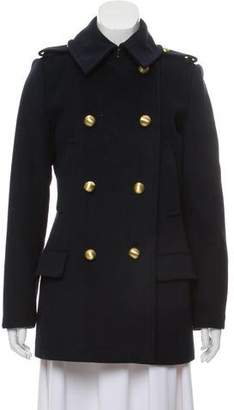 MICHAEL Michael Kors Double-Breasted Wool Coat