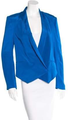 Rebecca Minkoff Silk Single Button Blazer