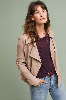 Bagatelle Paneled Leather Jacket