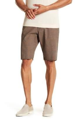 Volcom Gritter Thrifter Plaid Print Shorts