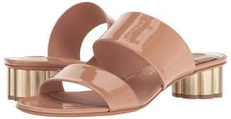 Salvatore Ferragamo Double Band Sandal High Heels