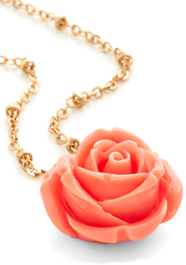 Retro Rosie Necklace