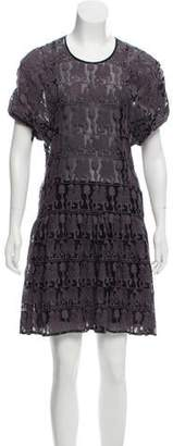 Isabel Marant Embroidered Knee-Length Dress