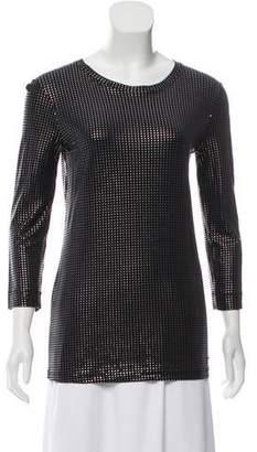 Just Cavalli Embellished Long Sleeve Top