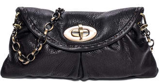 Carla Mancini Leather Clutch