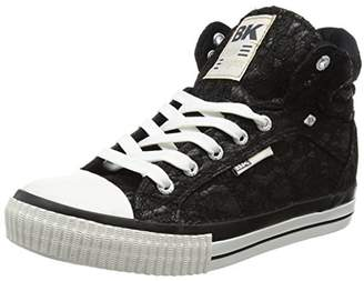 British Knights Women's Dee Low-Top Sneakers Black Size: