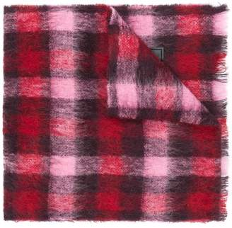 DSQUARED2 checked tartan scarf