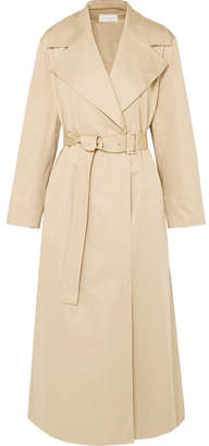 Moora Cotton-blend Poplin Trench Coat - Beige