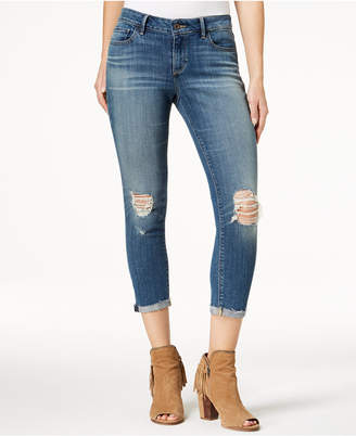 Lucky Brand Lolita Ripped Cropped Skinny Jeans
