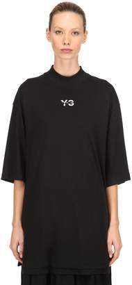 Y-3 Logo Layered Long Jersey T-Shirt