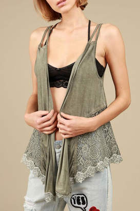 POL Open Front Shawl-Cardigan $59 thestylecure.com