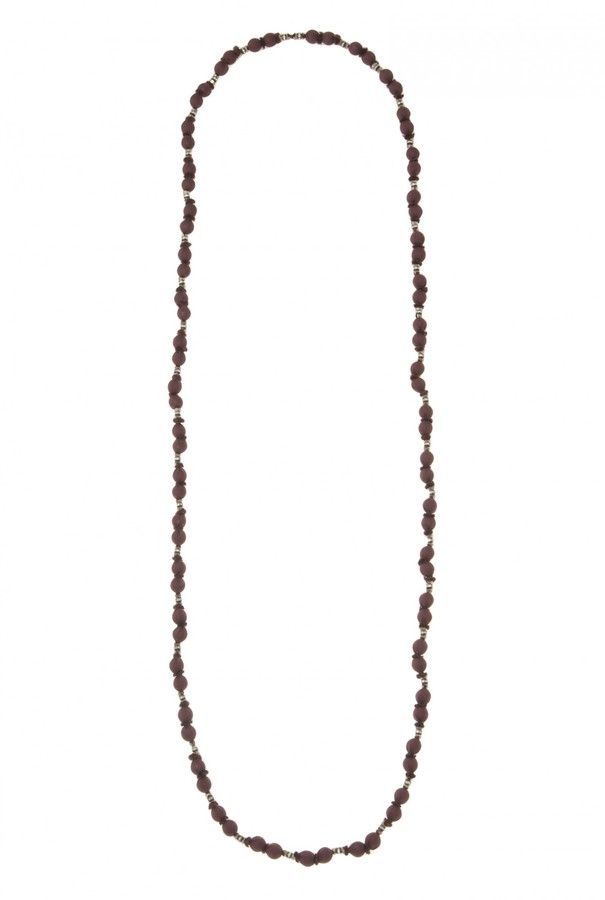 Marie-Laure Chamorel Silk Beads Necklace