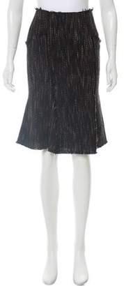 Paul Smith Virgin Wool Knee-Length Skirt w/ Tags