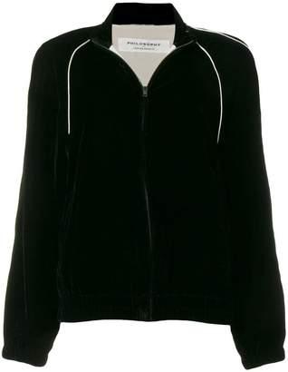Philosophy di Lorenzo Serafini zip front jacket