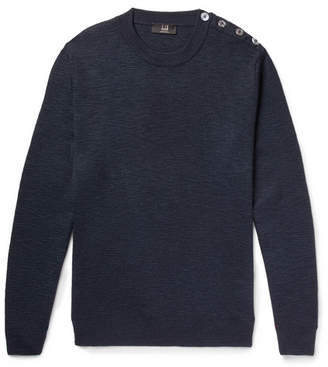 Dunhill Slub Silk Sweater