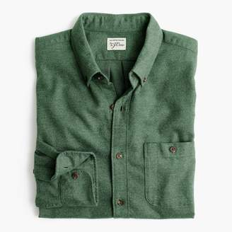 J.Crew Slim brushed heather elbow-patch shirt in solid