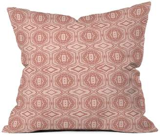Deny Designs Holli Zollinger Anthology of Pattern Seville Marble Pink Throw Pillow