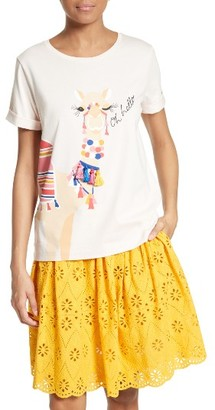 Women's Kate Spade New York Oh Hello Graphic Tee $78 thestylecure.com