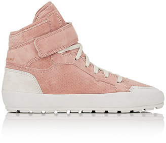 Isabel Marant Étoile Women's Bessy Ankle-Strap Sneakers $570 thestylecure.com