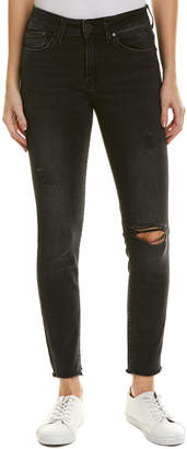 Mavi Jeans Alissa Smoke Ripped Nolita Super Skinny Leg