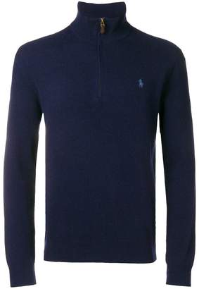 Polo Ralph Lauren half-zip logo sweater