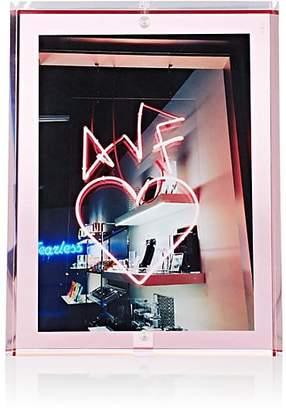 """Alexandra Von Furstenberg Voltage 5"""" x 7"""" Picture Frame - Rose"""