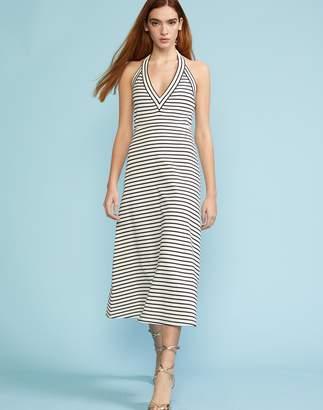 Cynthia Rowley Lisbon Striped Halter Dress