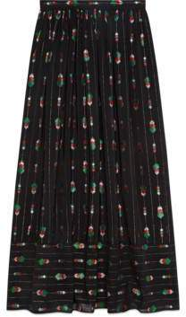 Gucci Maxi skirt with fil coupé
