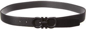 Salvatore Ferragamo Gancini Reversible & Adjustable Leather Belt