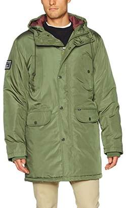Obey Men's Blizzard Regular Fit Parka Jacket
