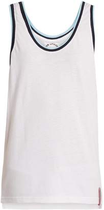 The Upside Monterey cotton-mesh performance tank top