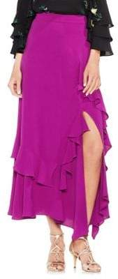 Vince Camuto Tropic Heat Tiered Ruffled Maxi Skirt