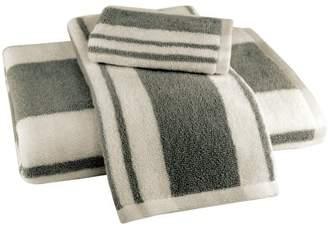 ADI Hamilton Stripe 3 Piece Towel Set in Grey