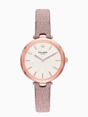 Kate Spade Holland Metallic Rose Gold-tone Watch, Rosegold