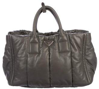 Pre-Owned at TheRealReal · Prada Bomber Nappa Tote faa9f354c0