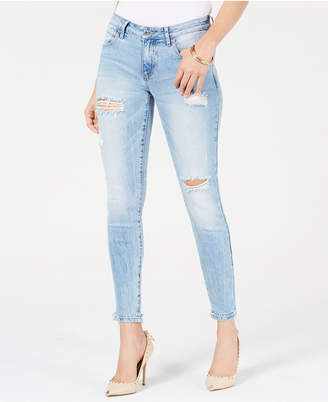 GUESS Sexy Curve Distressed Skinny Jeans