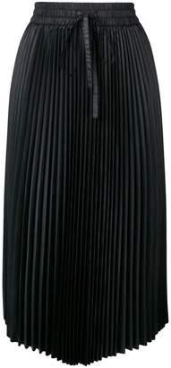 RED Valentino pleated midi skirt