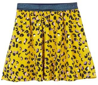 Mint Velvet Romy Print Soft Skirt