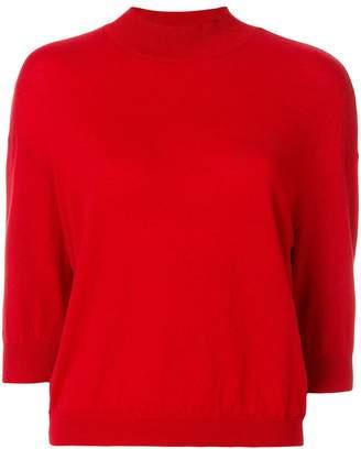 Giambattista Valli cropped sleeves jumper