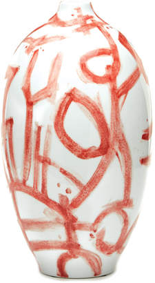 Twos Company Two's Company Corals Red Vase