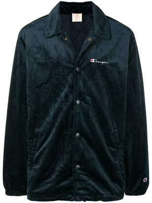 Champion satin bomber jacket
