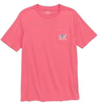 Vineyard Vines Lax Bro Whale Pocket T-Shirt