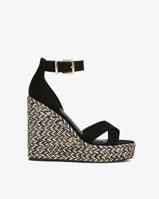 Express Ankle Strap Wedge Sandals