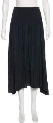 Calypso Midi Shirred Skirt