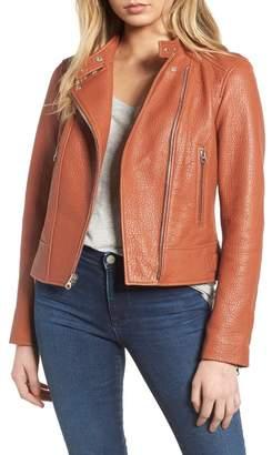 Derek Lam 10 Crosby Asymmetrical Leather Moto Jacket