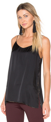 Theory Odete Satin Tank $265 thestylecure.com